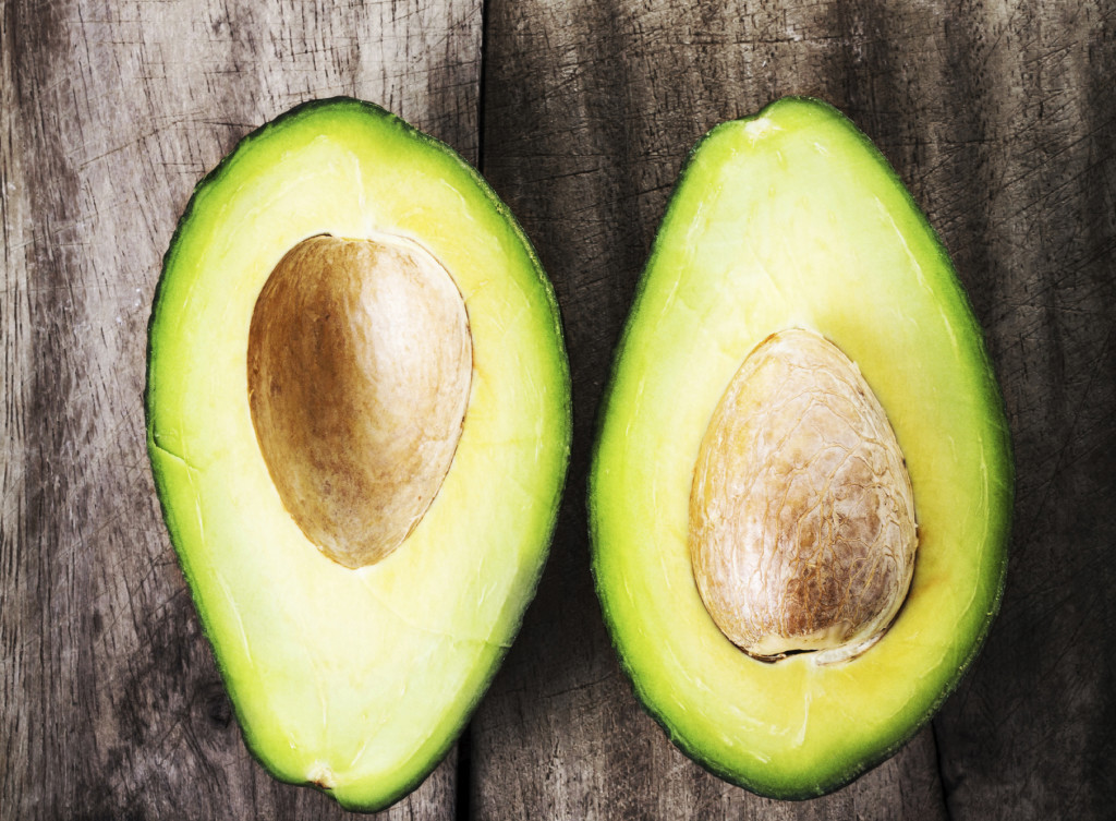 Avocado is a top food for vitamin E