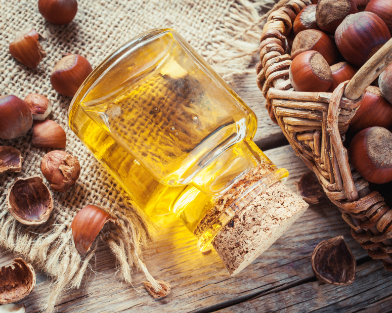Hazelnut Oil top food for vitamin E
