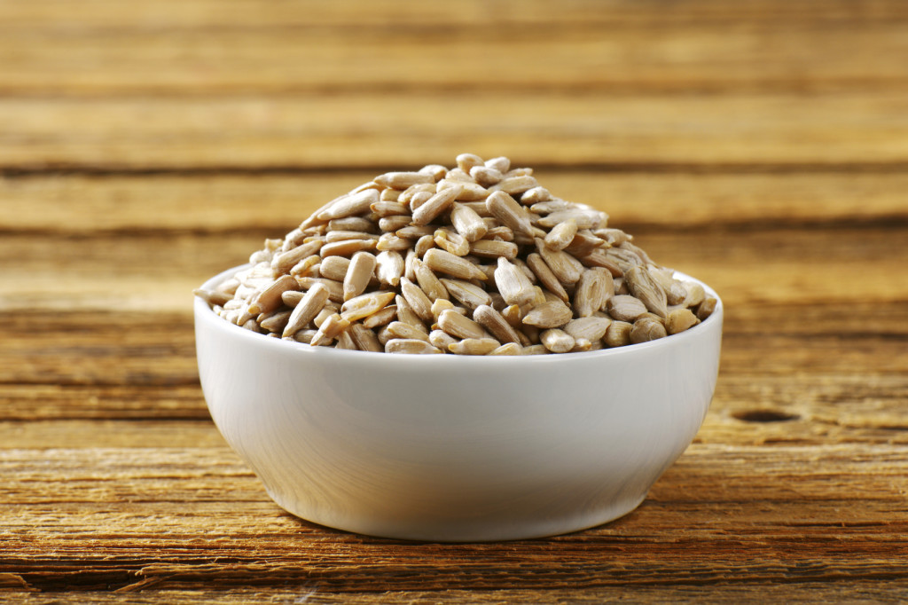 Vitamin E in Sunflower seeds