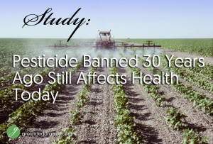 Study: Pesticide Banned 30 Years Ago Still Affects Health Today