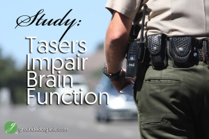 Study: Tasers Impair Brain Function