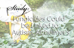 Fungicides Could be Linked to Autism, Alzheimer's.