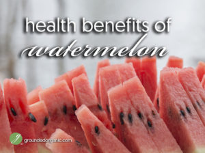 Health Benefits of Watermelon