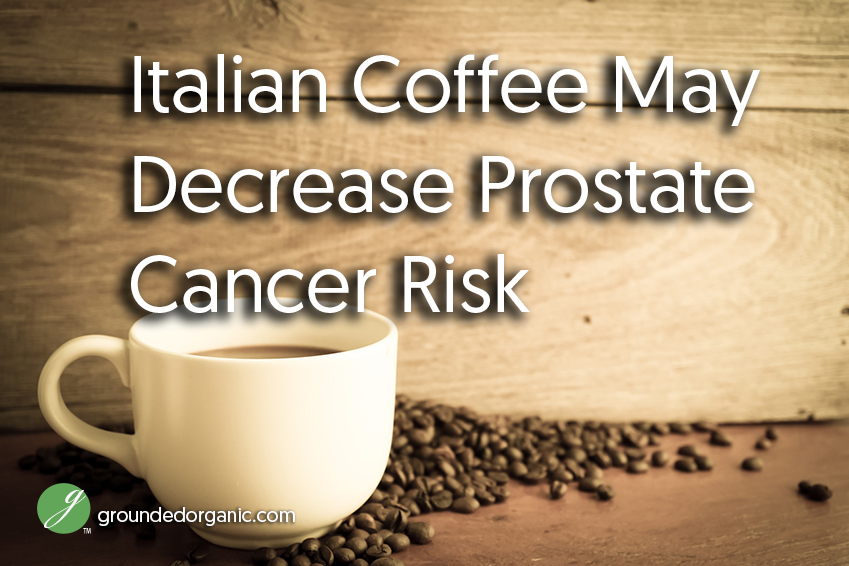 Coffee may decrease prostate cancer risk